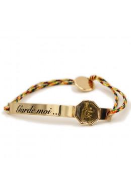 Cordon GARDE MOI Multicolore