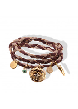Bracelet Lycra  RAMATUELLE OR