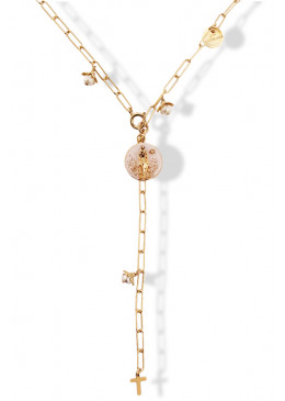 Collier APPARITION FLOWER OR