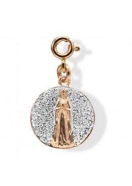 Médaille APPARITION Argent Paillette