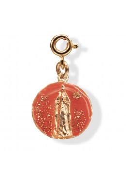 Médaille APPARITION Abricot