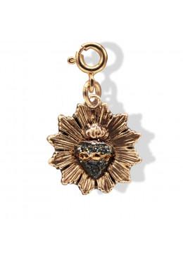Médaille «Ex Voto» Anthracite Paillette