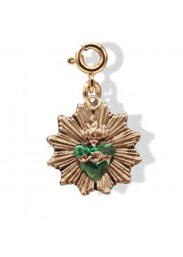 Médaille «Ex Voto»Emeraude