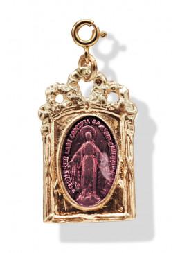 Médaille BAROQUE Or pétale