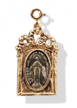 Médaille BAROQUE Or Orage
