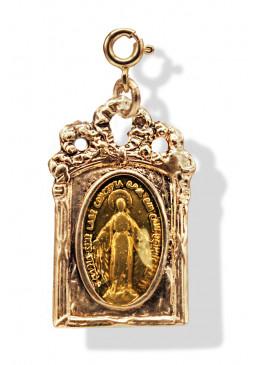 Médaille BAROQUE Or Soleil