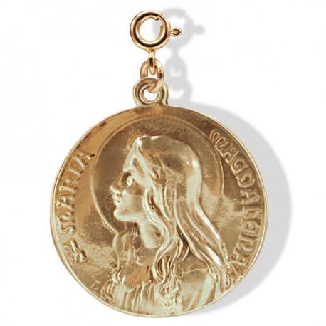 médaille «Maria-Magdalena» doré Brut