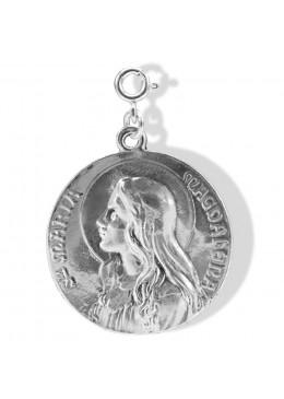médaille «Maria-Magdalena» Argent Brut