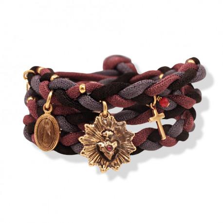 Bracelet Lycra BYZANCE 05 Prune