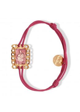 Bracelet cordon NEW MASSALIA Or 03 Petale