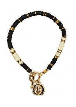 Bracelet « Sao Paulo » Mini-Médaille