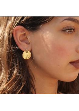 Boucles d'oreille «Rayonnante»